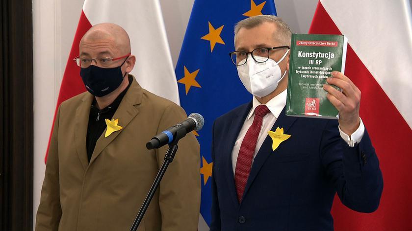 Kwiatkowski: zdradzę tajemnicę, jaki będzie wynik głosowania w Senacie w sprawie kandydatury posła PiS