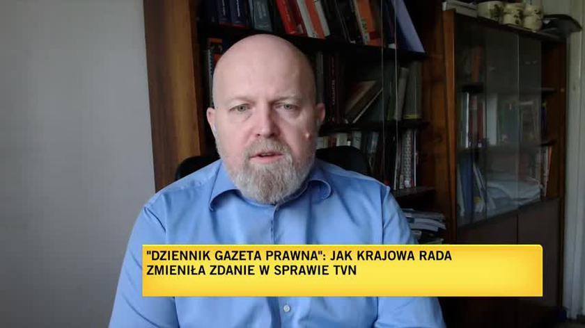 """Osiecki z """"DGP"""" o zmianie zdania w sprawie TVN przez KRRiT"""