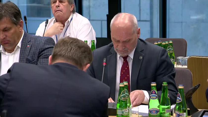 Wymiana zdań między Antonim Macierewiczem (PiS) a Maciejem Laskiem (KO)