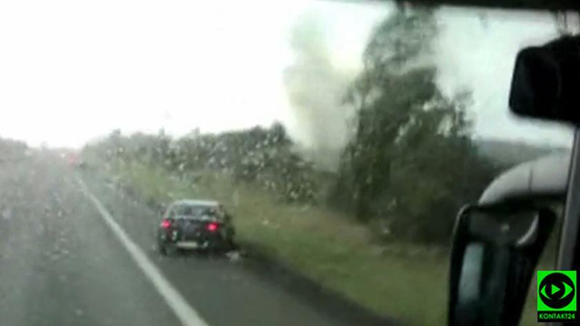 """Tornado porywa autokar. """"Jezus Maria, idzie na nas"""""""