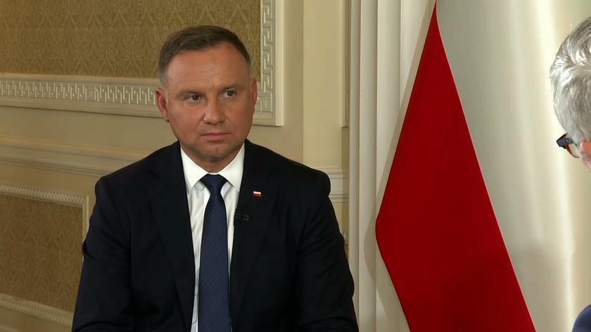Stan wyjątkowy w części Polski przy granicy z Białorusią. Andrzej Duda komentuje