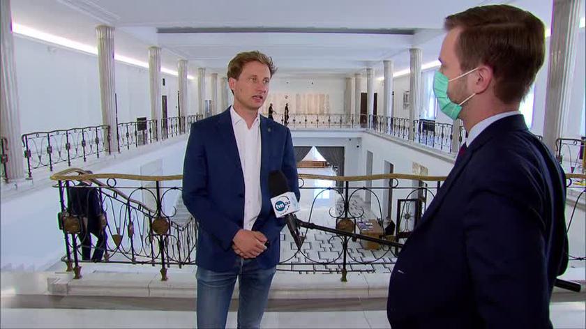 Poseł Franciszek Sterczewski z KO o projekcie podwyżek dla parlamentarzystów