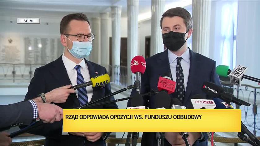 """Mueller o różnicy """"między Solidarną Polską a Platformą Obywatelską i Polskim Stronnictwem Ludowym"""""""
