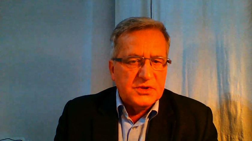 Komorowski: oczekiwałbym więcej od prezydenta i pani prezydentowej