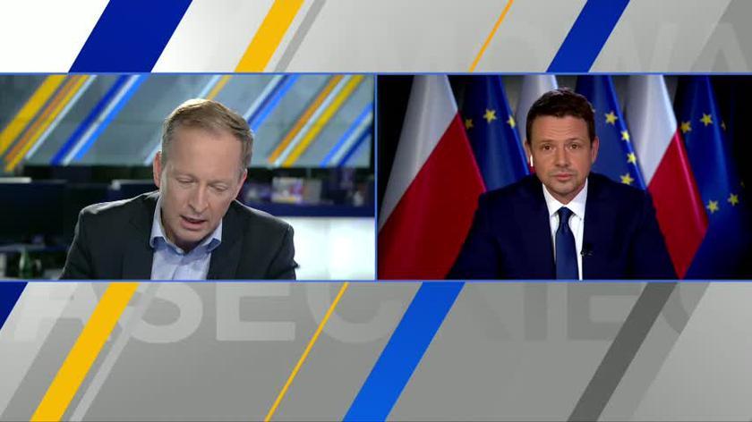 Trzaskowski: Jarosław Kaczyński traci panowanie nad swoją partią