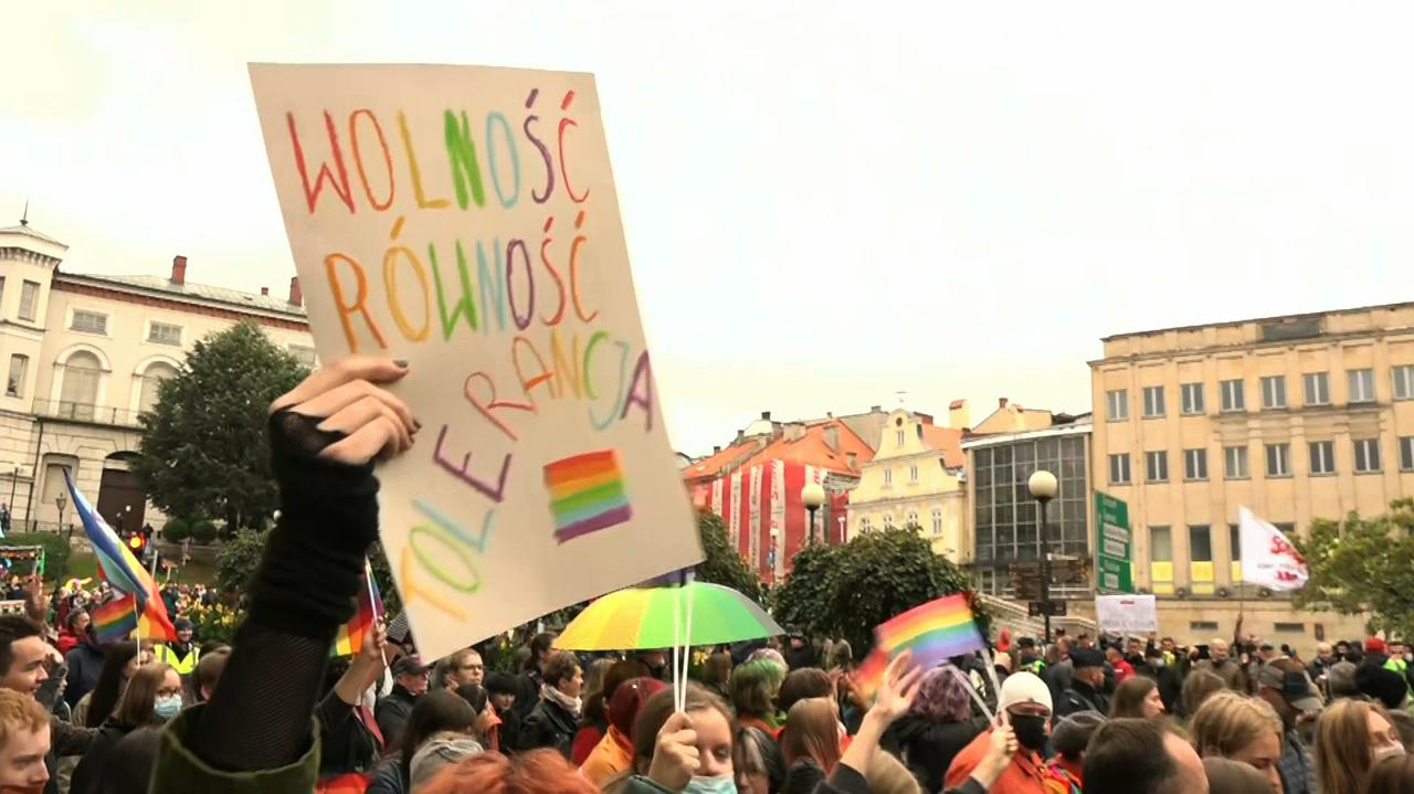 Pierwszy Marsz Równości w Bielsku-Białej