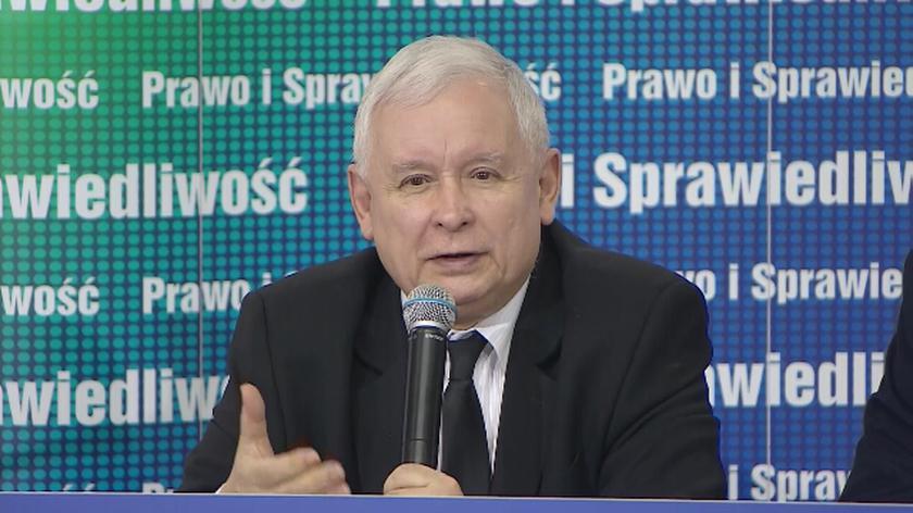 Kaczyński przemawiał w Trzciance