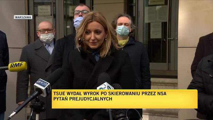 Mecenas Dębska: Trybunał postawił granicę władzy politycznej