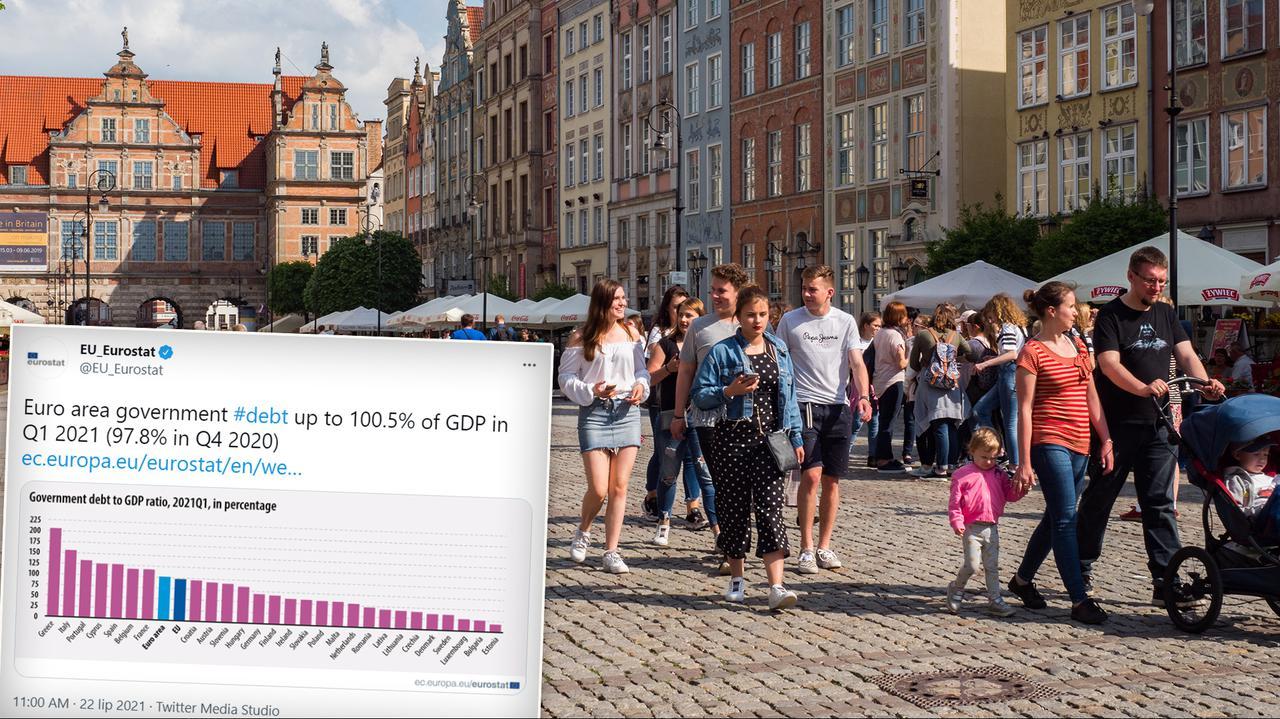 Dług publiczny w państwach Unii Europejskiej. Nowe dane