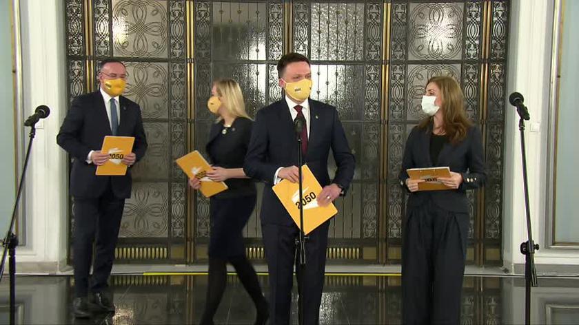 Hołownia o dołączeniu Muchy do ruchu Polska 2050: dla nas to moment szczerej radości
