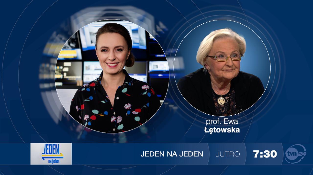 Profesor Ewa Łętowska będzie gościem