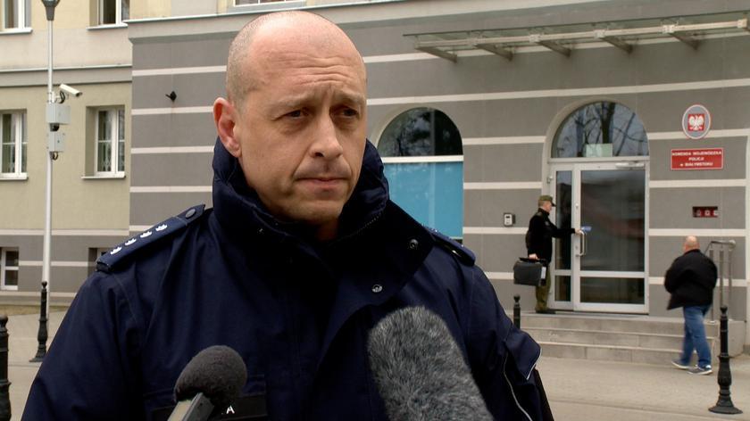 Blokady i kontrole na drogach w związku z porwaniem w Białymstoku