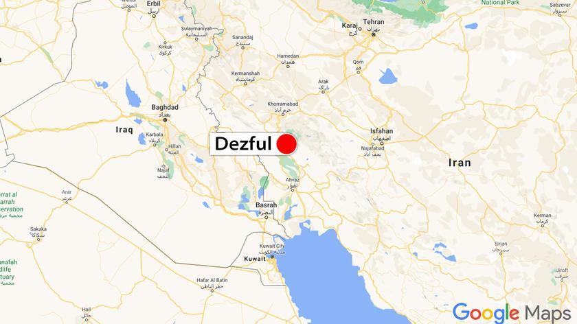 Dwóch pilotów zginęło w wypadku myśliwca F-5 w pobliżu Dezful