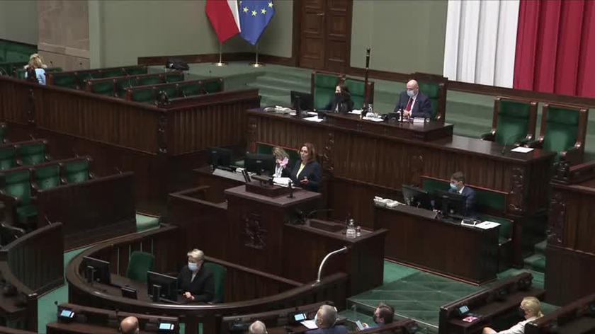 Kidawa-Błońska: ostrzegałam przed tym bezprawiem