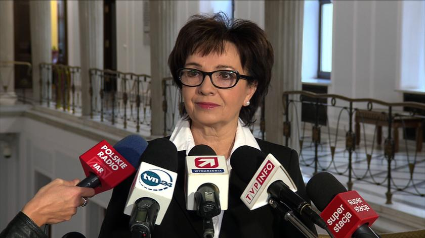 Elżbieta Witek: doniesienia medialne są dla mnie niesprawdzone