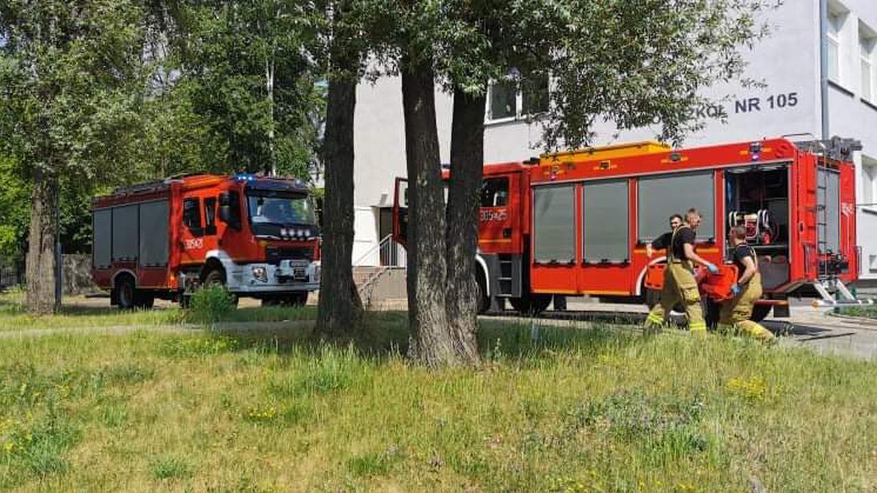 W szkole spadła winda, dwie osoby trafiły do szpitala