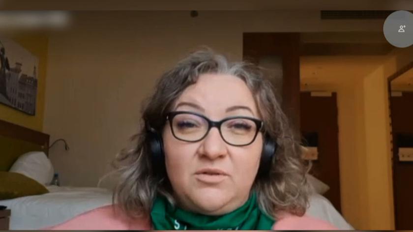 Marta Lempart o słowach prezydenta w sprawie działań policji: to jest dla niej sygnał, że może bić ludzi, byle, żeby nikt nie zginął