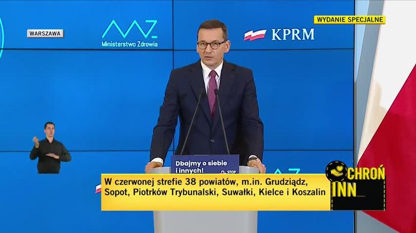 """Premier tłumaczy, jaką liczbą respiratorów dysponuje Polska. Część z nich objęta """"klauzulą tajności"""""""