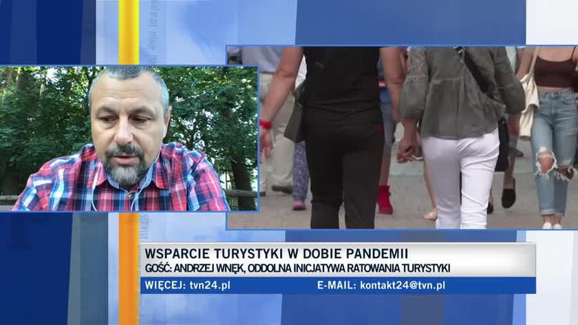 Andrzej Wnęk o bonie turystycznym: trafi do nielicznych