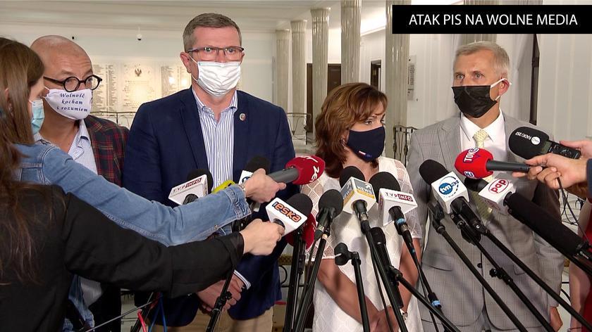 Morawska-Stanecka: byliśmy świadkami żenującego spektaklu w Sejmie: spektaklu bezprawia, łamania regulaminu