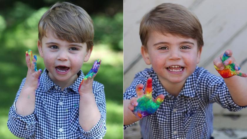 Książę Louis skończył dwa lata