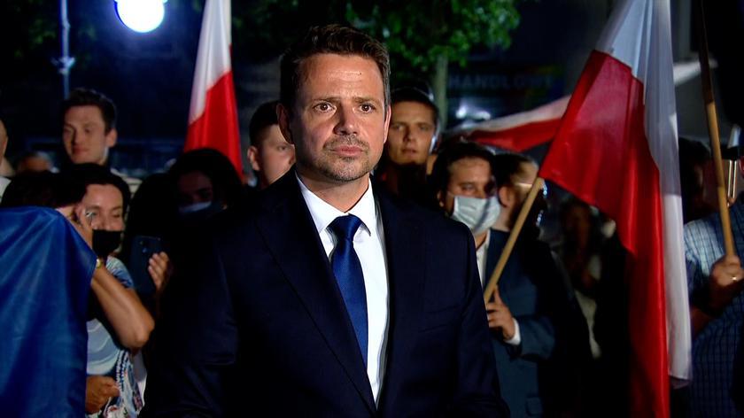 Trzaskowski: Nie ma zgody na władzę, która uwłaszcza się na państwie i nie reaguje na afery