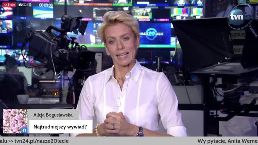 Najtrudniejszy wywiad? Anita Werner: najdziwniejszy był z ówczesną premier Ukrainy Julią Tymoszenko