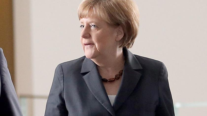 Angela Merkel przyleciała do Moskwy