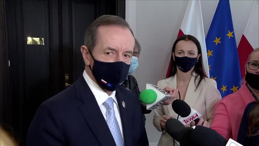 Marszałek Grodzki o preambule do ustawy o KPO