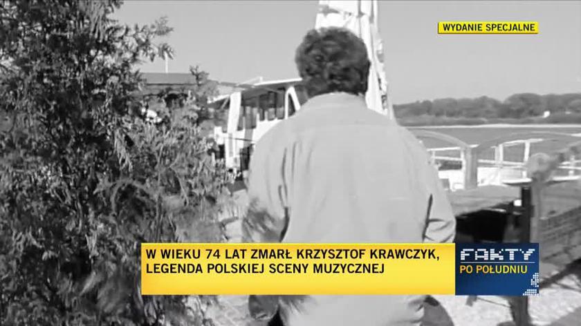 Kayah wspominała zmarłego Krzysztofa Krawczyka