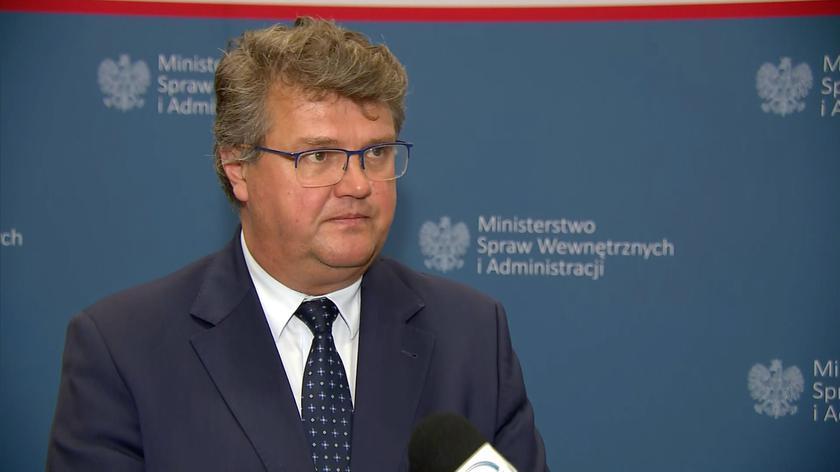 Wąsik o sytuacji migrantów przy granicy polsko-białoruskiej