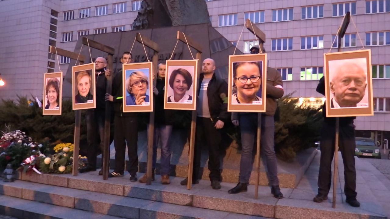 Zdjęcia europosłów na szubienicach, śledztwo po raz drugi umorzone