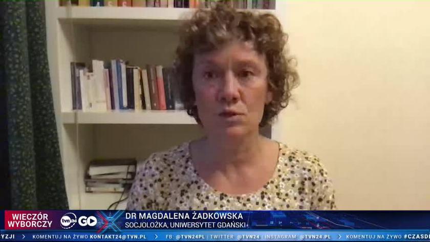 Dr Magdalena Żadkowska: w kampanii bardzo mało słyszeliśmy mówienia do kobiet i młodych ludzi