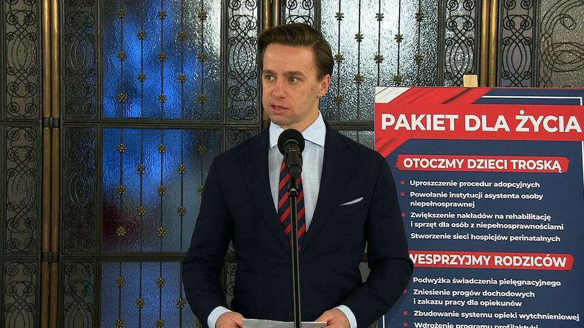 Krzysztof Bosak: to, że z kimś się pojawiam publicznie, to nie znaczy, że biorę odpowiedzialność za jego działania