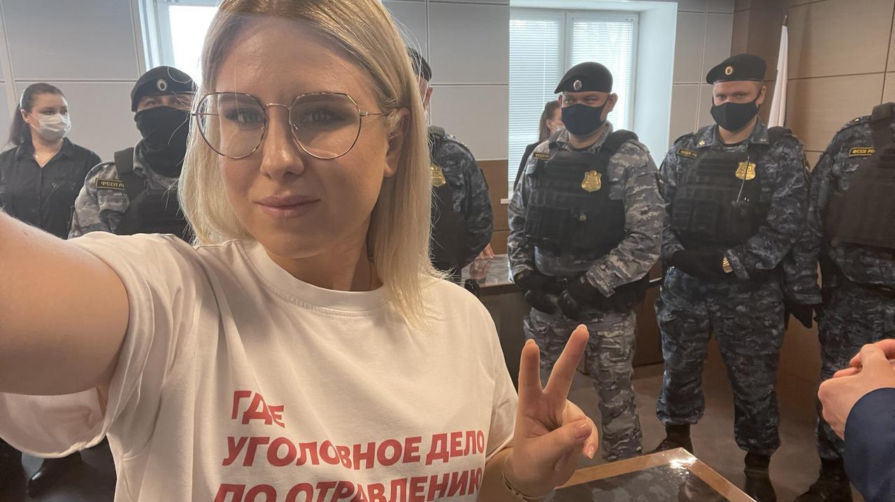 Wyrok utrzymany. Współpracownica Nawalnego odwoła się od decyzji sędziów