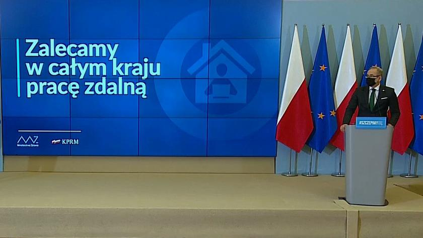 Od 20 marca do 9 kwietnia rozszerzenie obostrzeń na całą Polskę