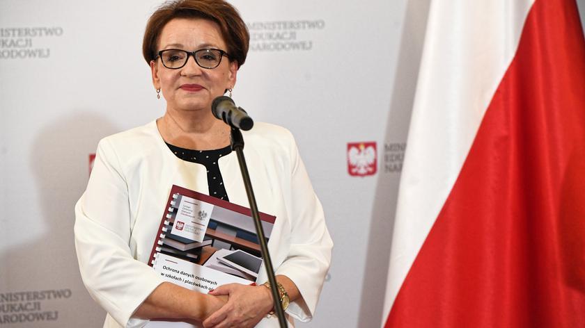 Anna Zalewska odniosła się do raportu Rzecznika Praw Dziecka