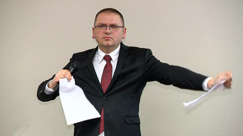 Barbara Piwnik o sędzim Nawackim: obraz sędziego wykonującego taki gest może zasiać wątpliwości u obywateli