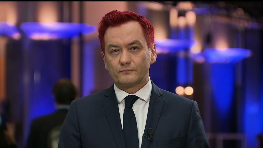 Biedroń: dzisiaj i przez najbliższy czas będę miał czerwone włosy w solidarności, w proteście