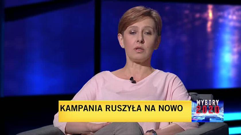 Anna Materska-Sosnowska o elektoracie Szymona Hołowni i Krzysztofa Bosaka