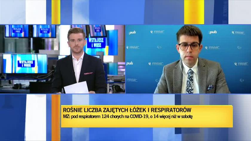 Dr Łukasz Jankowski o strategii walki z koronawirusem