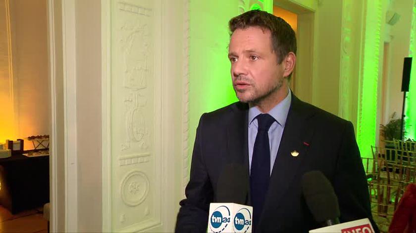 Rafał Trzaskowski o plebiscycie Warszawianka Roku 2021