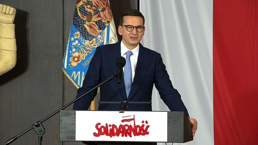 Mateusz Morawiecki na 41. rocznicy podpisania Porozumień Sierpniowych w Gdańsku