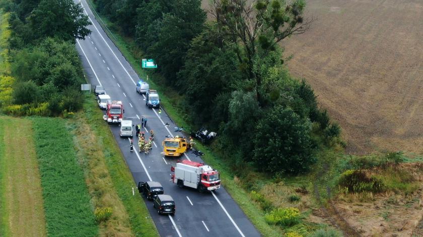 Policja o wypadku na Śląsku