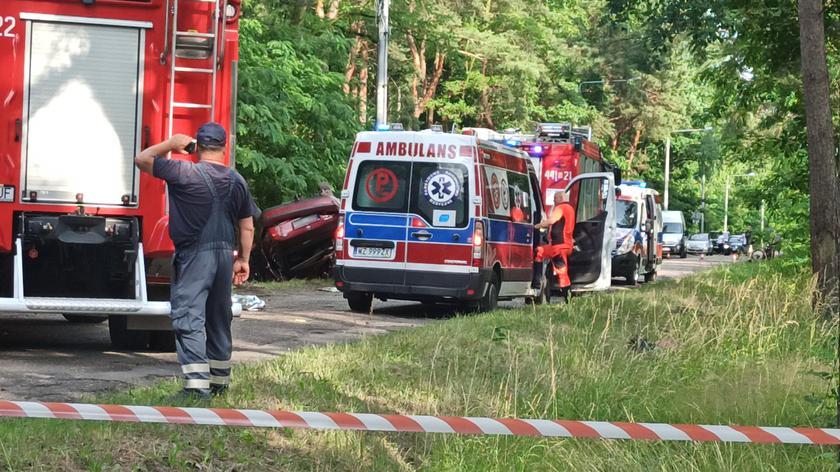 Tragiczny wypadek pod Grodziskiem Mazowieckim