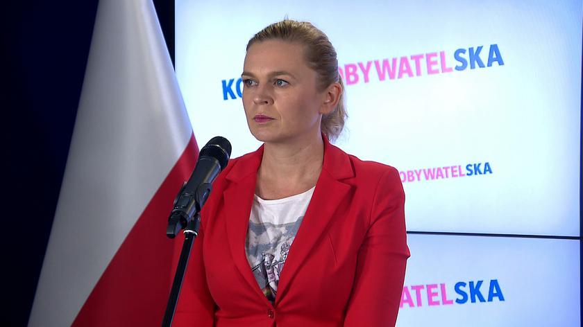 Nowacka: nie potrafi się opanować pan Kaczyński, stać go dzisiaj tylko na obraźliwe słowa