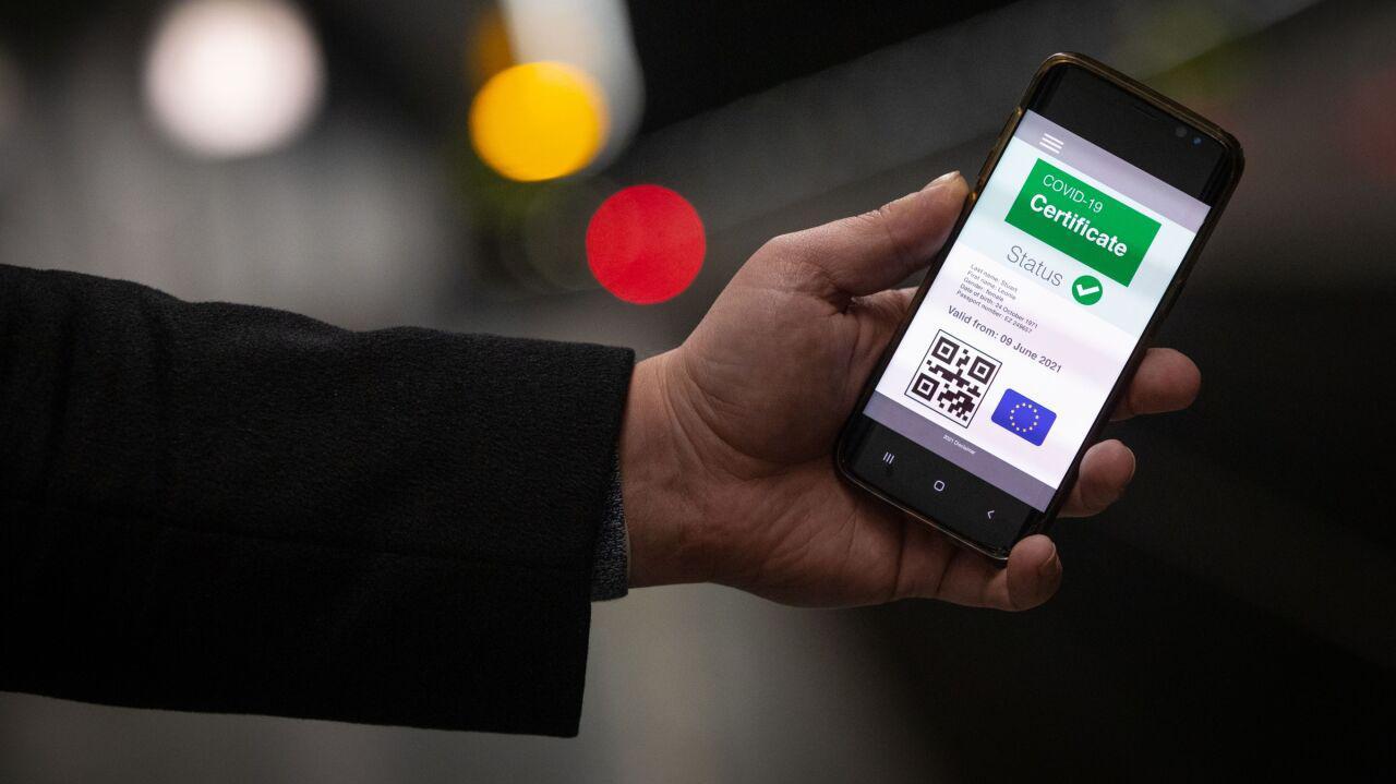 Paszport covidowy dostępny w rządowej aplikacji