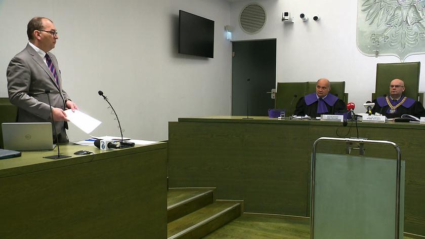Przemysław Radzik o Pawle Juszczyszynie na posiedzeniu Izby Dyscyplinarnej