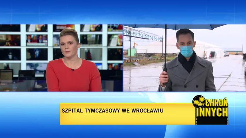 We Wrocławiu powstaje szpital tymczasowy. Trwają prace adaptacyjne