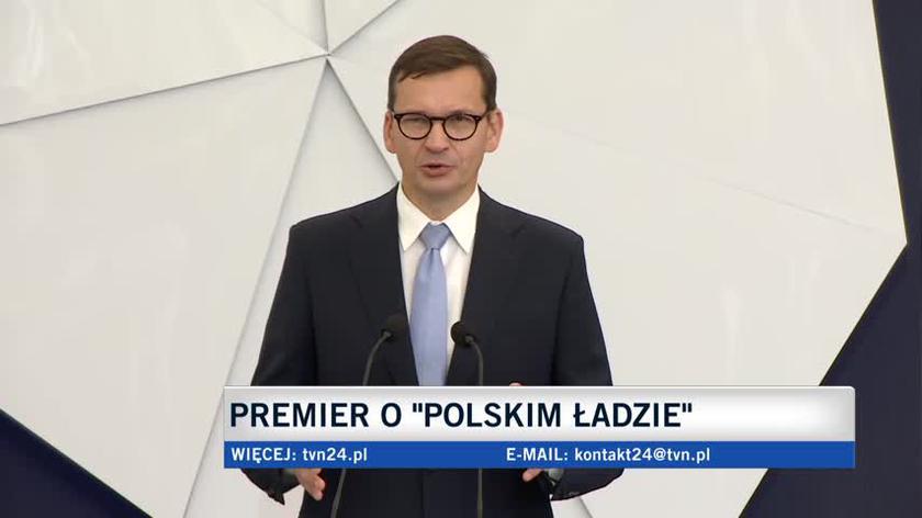 Morawiecki o pierwszym filarze Samorządowego Polskiego Ładu